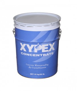 Peinture application de surfaces Xypex Concentrate