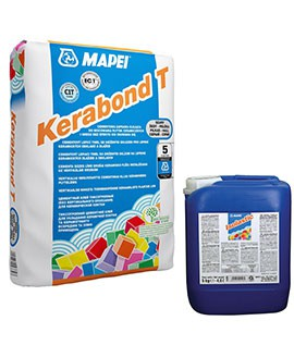 kerabond + Isolastic