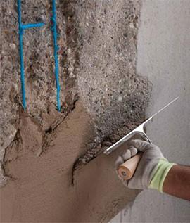 Réparartion de béton